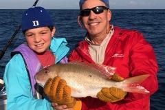 Zack Myones - Catches his first fish!