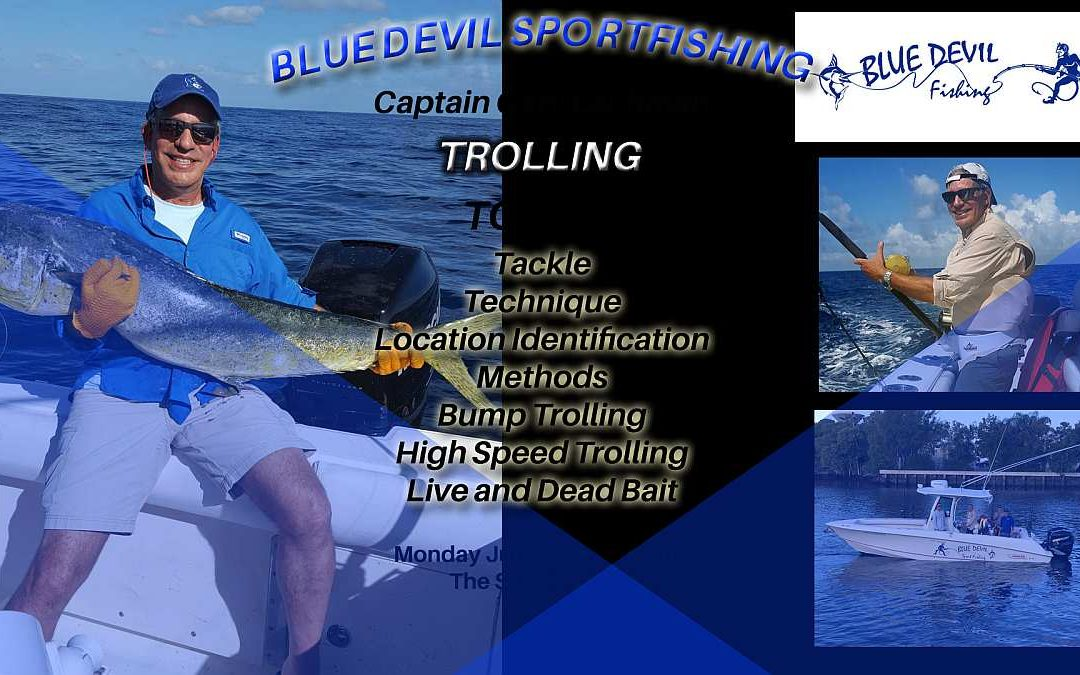 Blue Devil's Gary Lachman Speaks July 17 2017 at Offshore Anglers of Pompano Beach