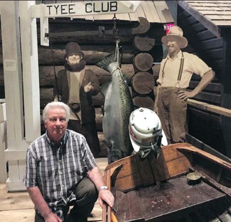 Tyee Club historian Norm Lee